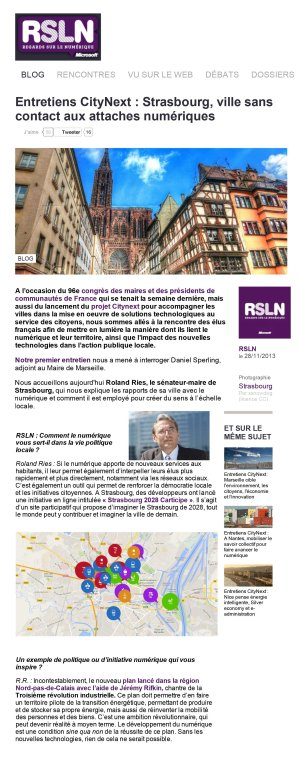 RSNL - Novembre 2013