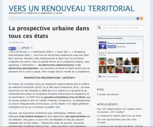 Blog le Monde - Vers un renouveau territorial - Octobre 2013