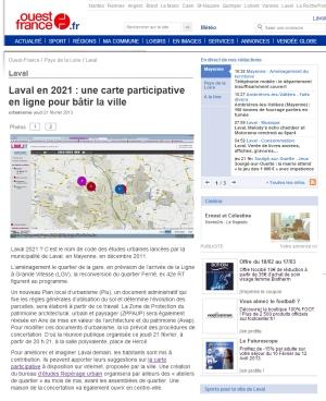 OUEST FRANCE - 21 février