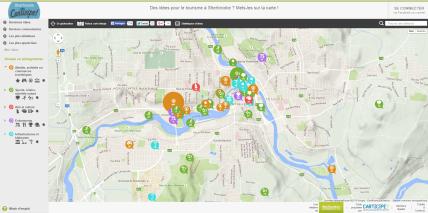 capture d'écran de Carticipe Sherbrooke