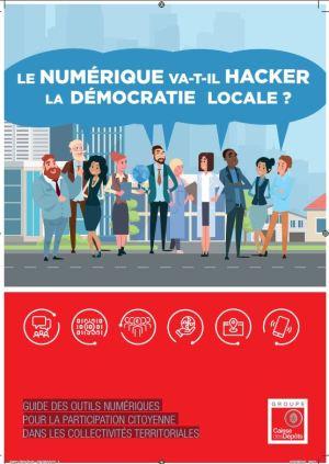 Capture guide CDC outils numériques pour la participation citoyenne